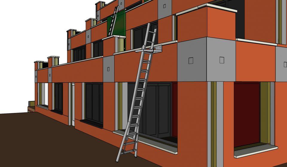 Ladder BIM 3D tekenen