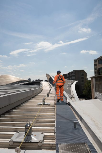 Valbeveiliging London Bridge Station UK