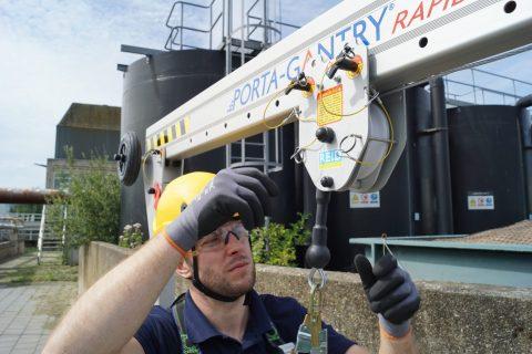Porta Gantry Rapide Eurosafe Solutions