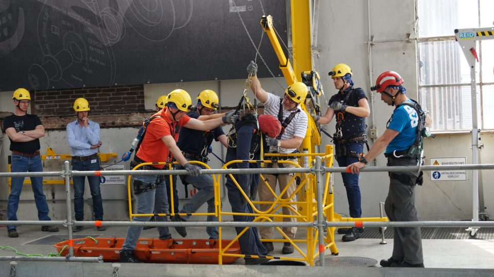 Besloten ruimtes training Eurosafe Solutions
