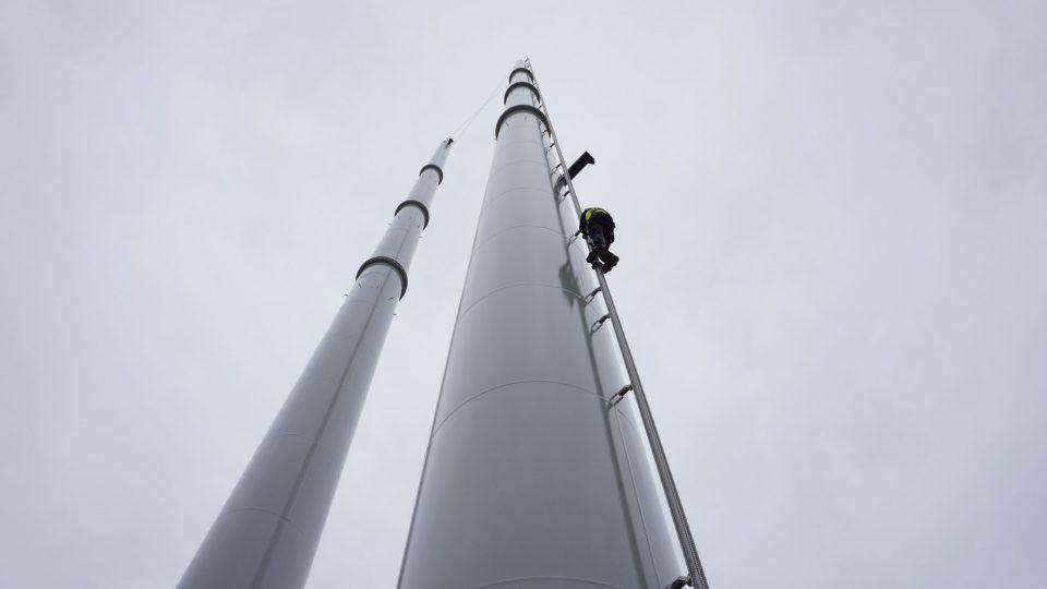 Training Veilig Werken op Hoogte Masten