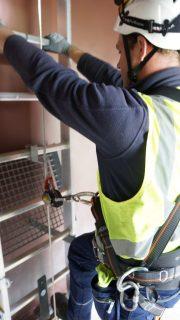 Wintrackmast TenneT valbeveiliging Eurosafe Solutions