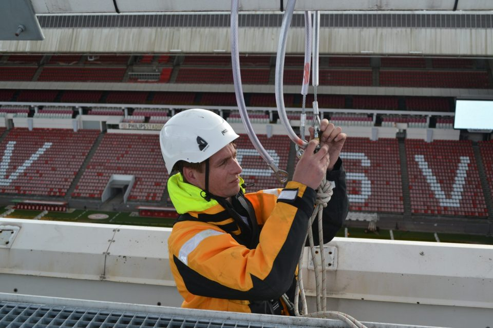 Rope Access Eurosafe Solutions PSV Eindhoven