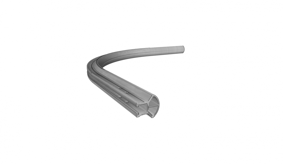 Inner curve on wall Securail 2016