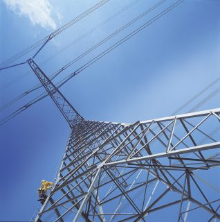 TowerLatch Vertical cable system on Electricity tower Eurosafe Solutions