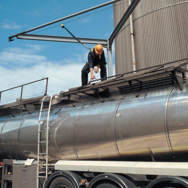 Veilig werken op vrachtwagen